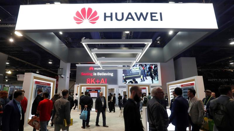 Huawei is the world's biggest producer of telecommunications equipment