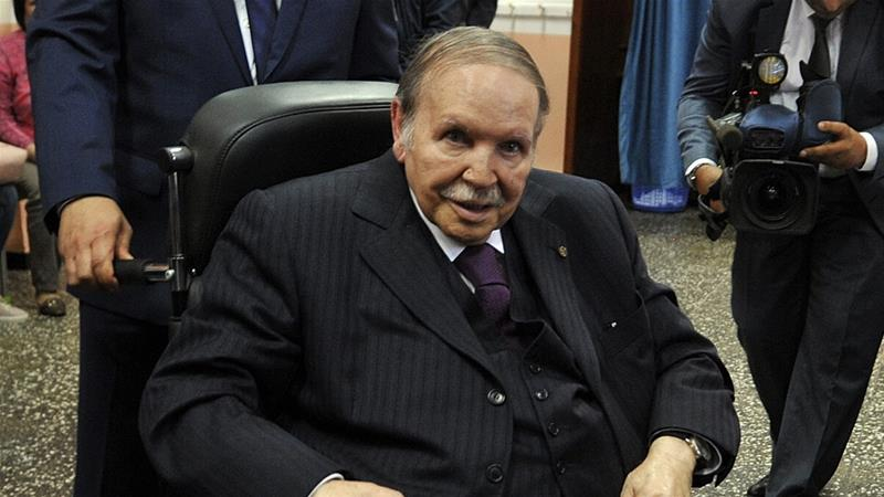 Algeria ruling coalition backs Bouteflika, 81, for fifth term