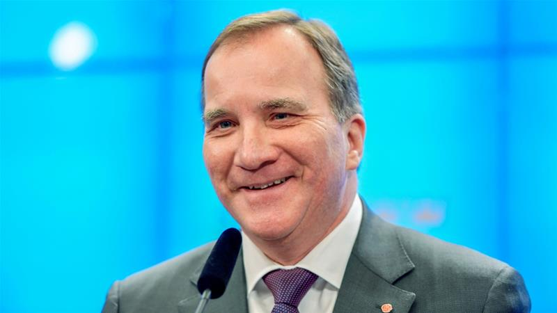 Sweden's 4-month political deadlock ends as parliament approves Lofven's minority government