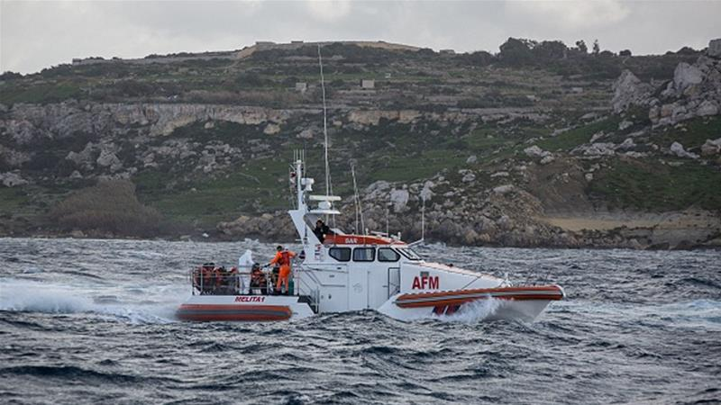 117 'drown in Med' as migrant boat capsizes
