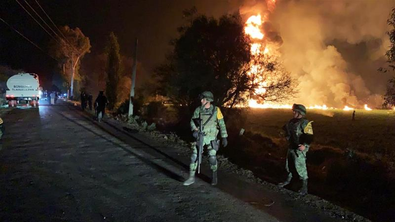 Twenty die as Mexico oil pipeline explodes