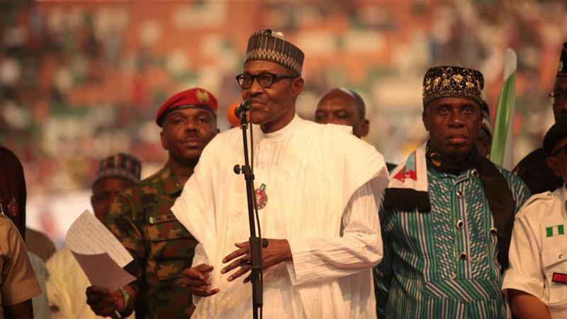 Obasanjo accused Buhari of resorting to desperate plans to remain in power [File: Tife Owolabi/Reuters]
