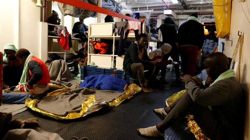 Most humanitarian groups have abandoned sea rescue efforts following Italy's harsher stance [Darrin Zammit Lupi/Reuters]
