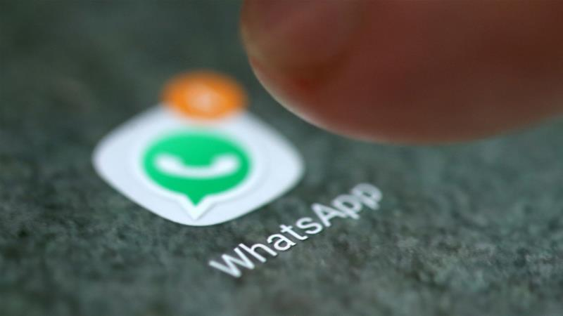 Both WhatsApp and its parent company Facebook have been scrutinised for their role in the spread of fake news [Dado Ruvic/Reuters]