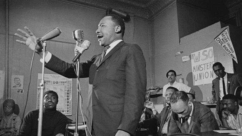 Mixed Messages As Us Marks Martin Luther King Jr Day News Al Jazeera