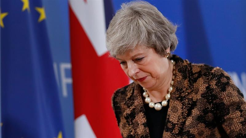 The UK is due to leave the EU on March 29, almost three years after nearly 52 percent of Britons voted to quit the bloc [File: Alastair Grant/The Associated Press]