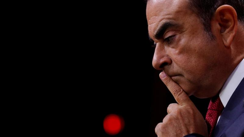 Former Nissan chief Carlos Ghosn is refused bail
