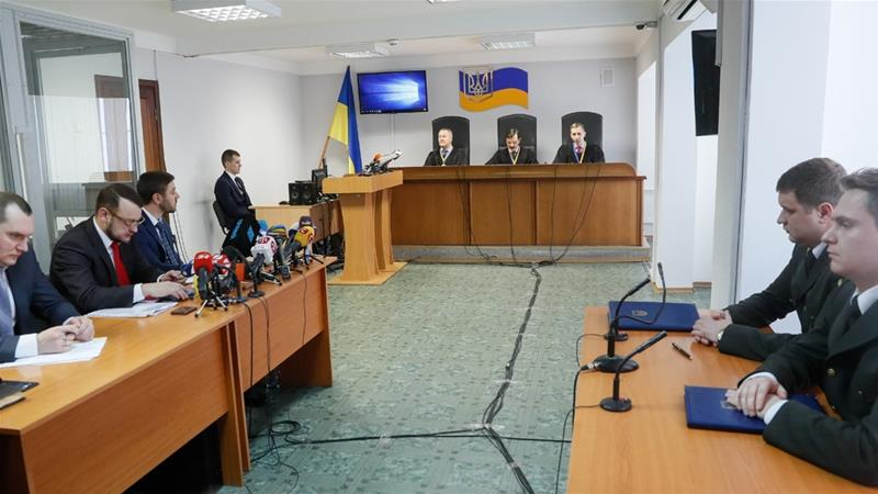 Ukraine's Viktor Yanukovich gets 13-year jail term for 'treason'