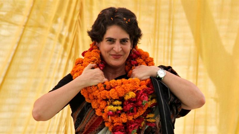 Priyanka Gandhi has accepted a senior post in the opposition Congress party led by her older brother, Rahul [File: Pawan Kumar/Reuters]