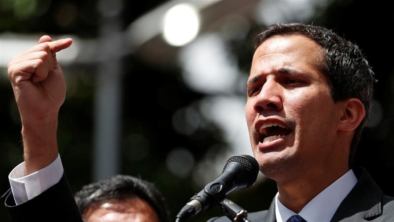 Venezuela's Guaido says he's working to restore ties with