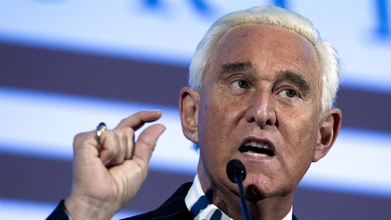 Roger Stone is a confidant of President Donald Trump [File: Jose Luis Magana/AP Photo]