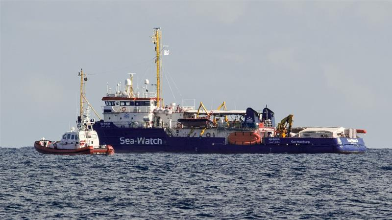 Italy's Salvini considers legal action against migrant rescue ship