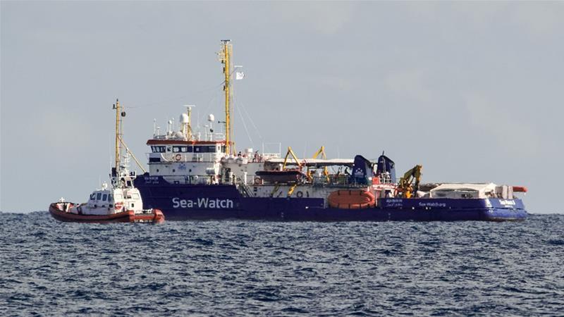Italy vows to sue NGO over migrant rescue boat | News | Al