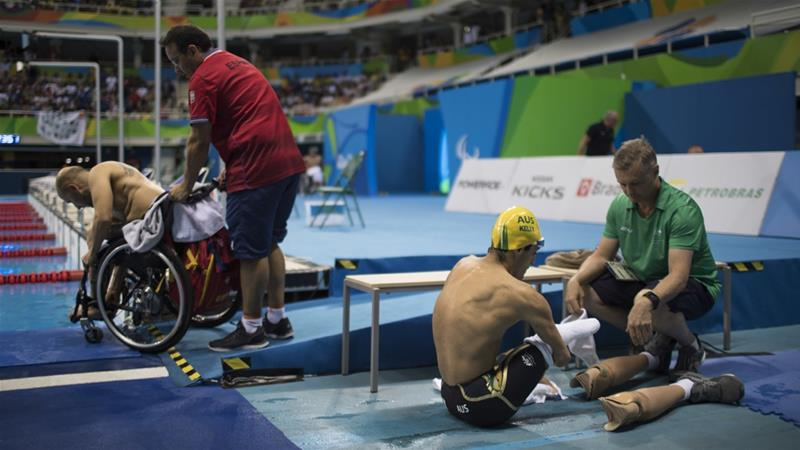 The championships in Sarawak were supposed to be qualifiers for the 2020 Tokyo Paralympics [Felipe Dana/AP]
