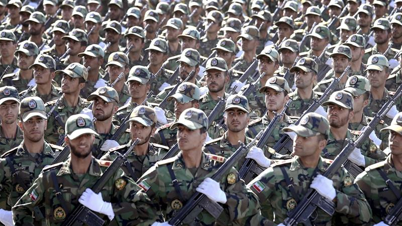 Iran's top commander recently said Tehran could shift from a defensive to offensive military approach [Ebrahim Noroozi/AP]