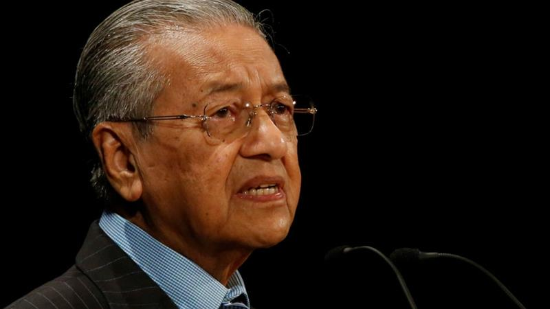Mahathir, 93, took office after an historic election victory last May [File: Issei Kato/Reuters]