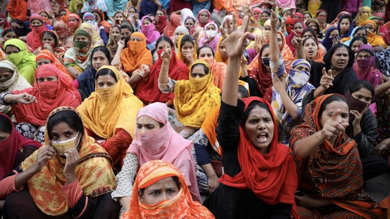 Almost 5,000 Bangladeshi garment workers sacked over strikes
