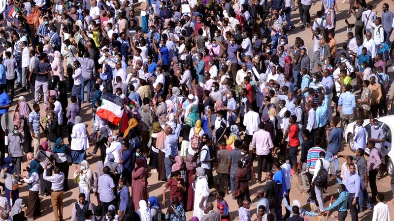 Anti-government protesters faced a crackdown by government forces in Sudan [File: Nureldin Abdallah/Reuters]