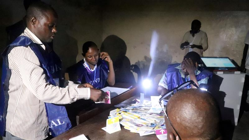 The electoral commission was scheduled to publish provisional results on Sunday but has said it could be delayed [File: Kenny Katombe/Reuters/]