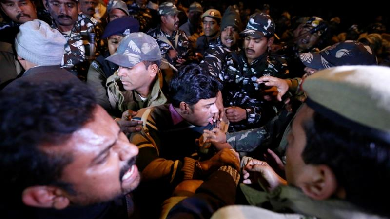 Protests erupt after women break decades-long ban on entering Hindu temple