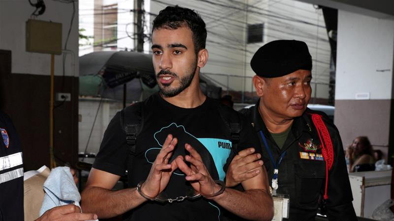 Al-Araibi was arrested in November when the footballer arrived in Thailand for his honeymoon [File: Athit Perawongmetha/Reuters]