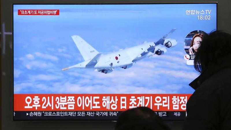 In December, a claim by Tokyo that a South Korean destroyer locked a targeting radar on a Japanese jet sparked a feud [File: Ahn Young-joon/AP]