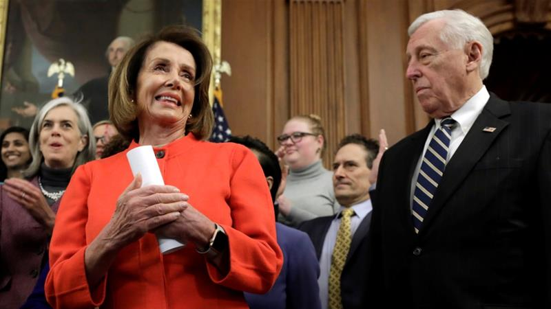 House Speaker and top Democrat Nancy Pelosi says ''winning is good'' [Yuri Gripas/Reuters]