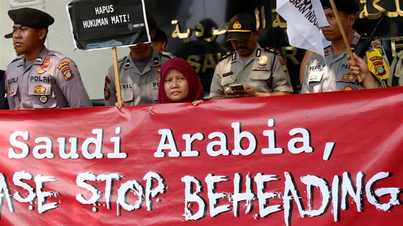 Saudi Arabia executes 39-year-old Filipina helper