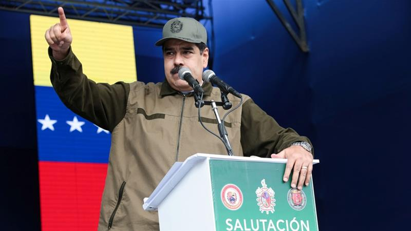 Nicolas Maduro's Venezuela is increasingly isolated in the region over its ongoing crisis [File: Miraflores Palace Handout/Reuters]