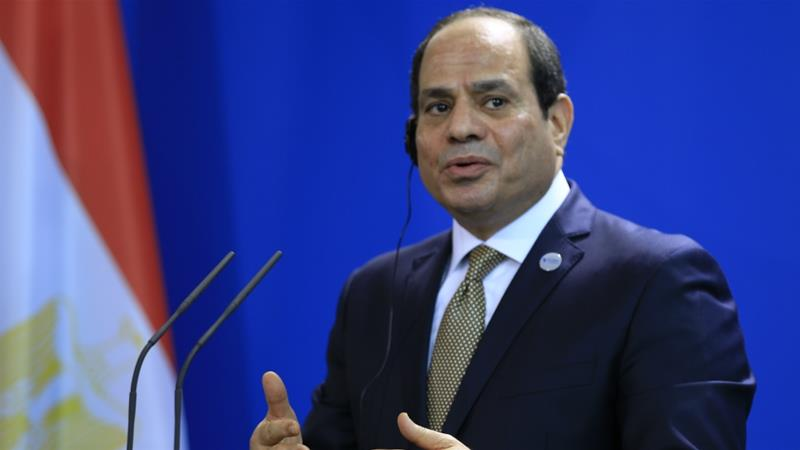 Sisi came to power on the back of a popularly-backed military coup in 2013 [File: Anadolu Agency]