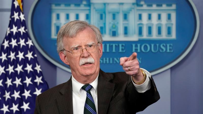 Bolton reassures Israel about Trump's Syria plan