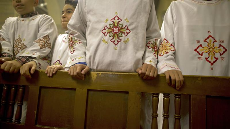 The Coptic Church is the dominant denomination among Egypt's estimated 10 million Christians [File: Amr Nabil/AP]