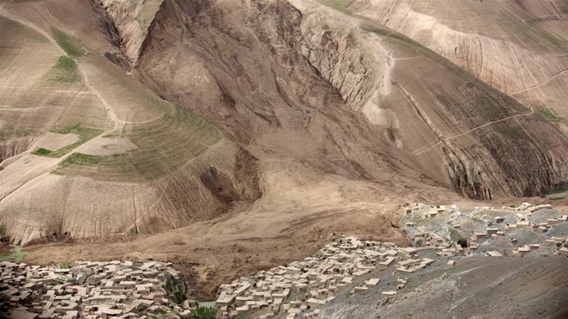 Badakhshan is prone to landslides, particularly in the colder months when heavy snow blankets the province [Rahmat Gul/AP/File]