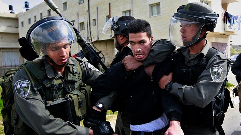 Israel holds 5,500 Palestinian prisoners, including nearly 500 administrative detainees, according to rights group Addameer [File: Majdi Mohammed/AP]