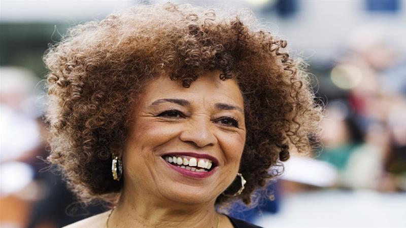 Activist Angela Davis is a renowned American author and academic [File: Mark Blinch/Reuters]