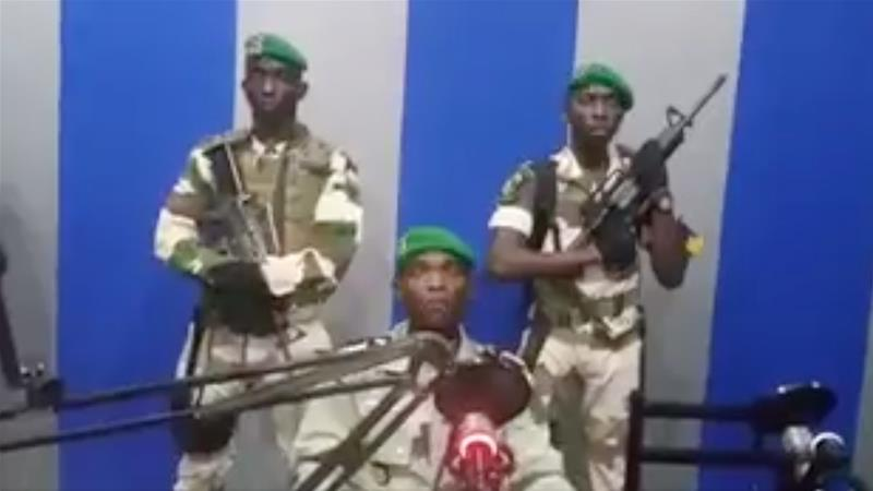 Gabon military seize national radio station in apparent coup attempt