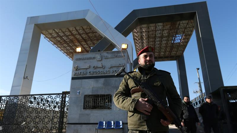 The PA took over the Rafah crossing in November 2017 as part of a reconciliation deal with Hamas brokered by Egypt [Ibraheem Abu Mustafa/Reuters]