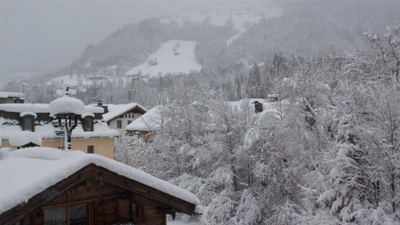 In Pictures: Snow cripples parts of Europe