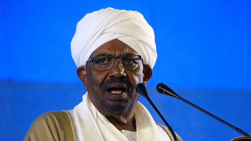 The rally was the first held in Khartoum in support of President Omar al-Bashir since protests erupted last month [Reuters]