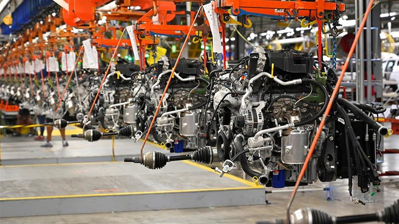 Global manufacturing is slowing, with US activity at decade low ...