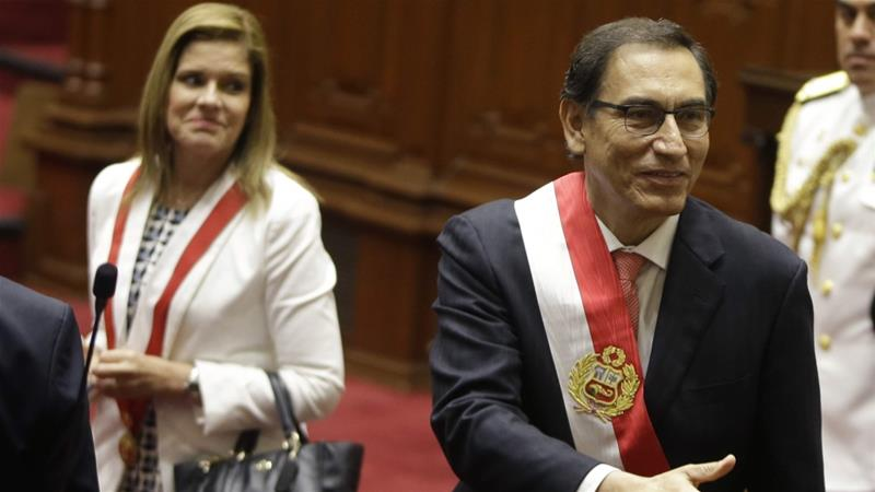 Peru's Vizcarra scraps Congress as opposition picks new president