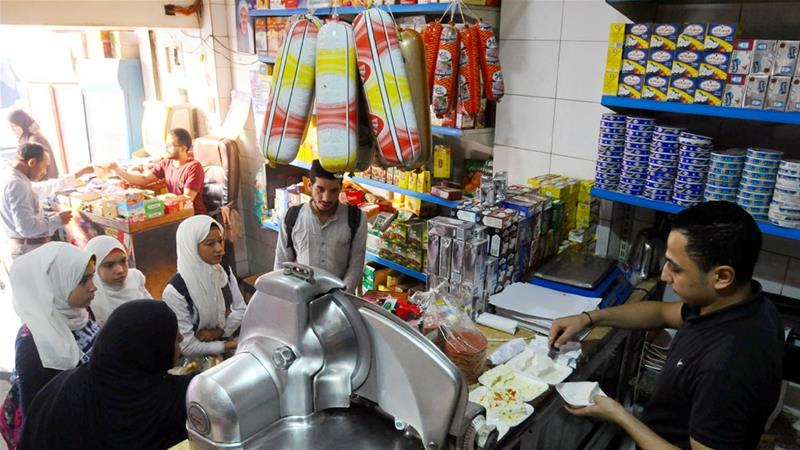 High food prices have put a strain on the pockets of many Egyptians [File: Shokry Hussein/Reuters]