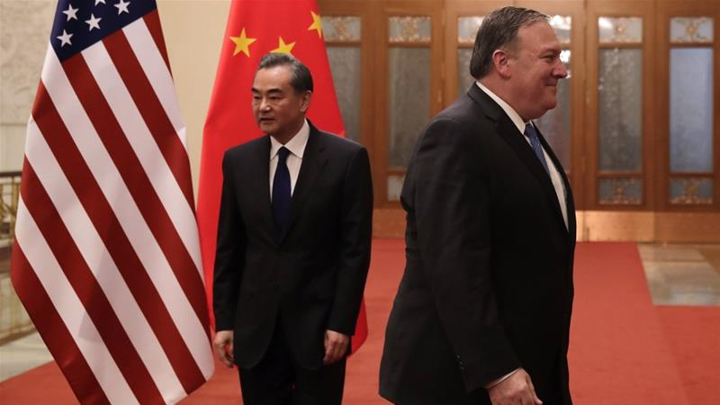 The United States is also currently engaged in a 15-month-old trade war with China [File: Andy Wong/AP]