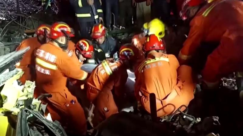 Three dead in China road bridge collapse