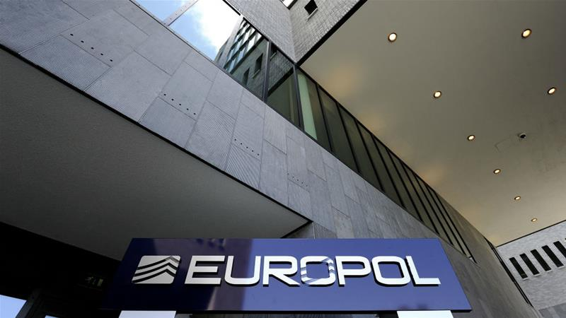 Europol helped coordinate more than 37,000 officers across the continent in one operation [Lex van Lieshout\EPA]