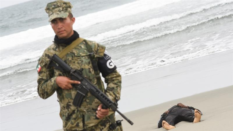 Two dead as migrant boat sinks off Mexico