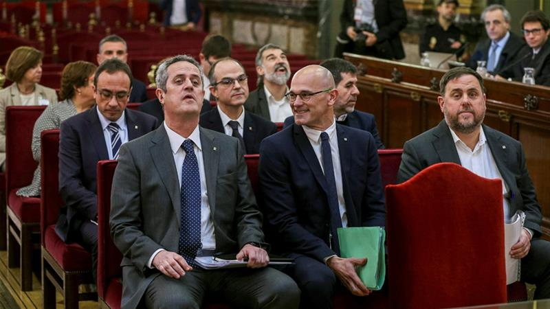 Catalan leaders get 13 years in jail for sedition