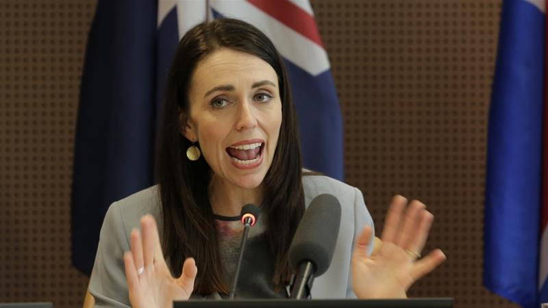 Ardern said the move complements her push to make global tech giants more accountable for online extremism [File: Seth Wenig/AP]
