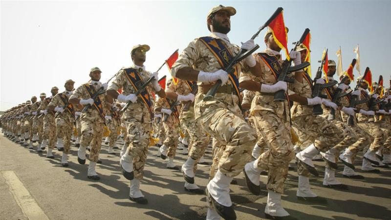The Revolutionary Guard is a major component of Iran's armed forces, numbering around 125,000 personnel [File: Reuters]