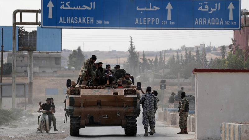 Tal Abyad, where the blast took place, is controlled by Turkish army and allied Syrian rebels [File: Reuters]